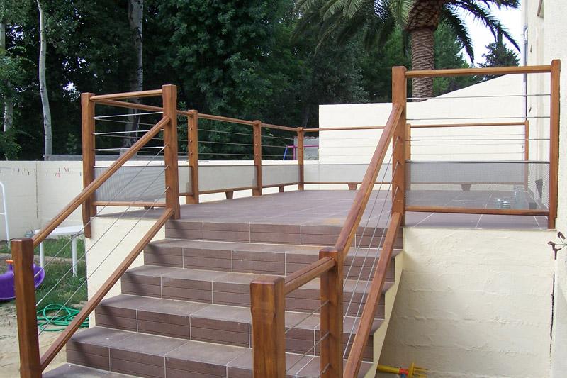escaliers ext rieurs escaliers 66 sur mesure pyr n es orientales. Black Bedroom Furniture Sets. Home Design Ideas