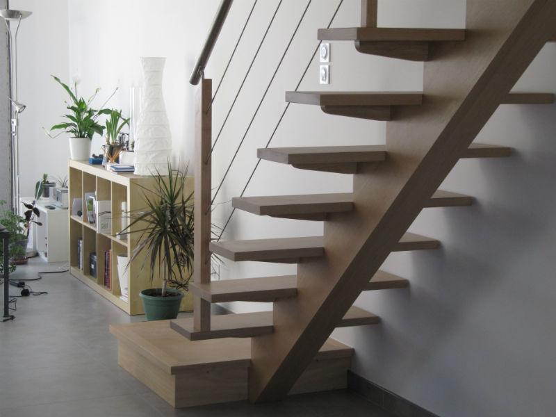 Perpignan Toulouges - Escaliers limon central- Escaliers 66 -